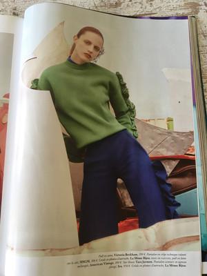 Vogue Charlotte Walles Aout 2016