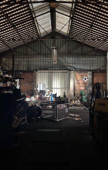 Hangar industriel